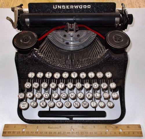 Underwood Junior Typewriter