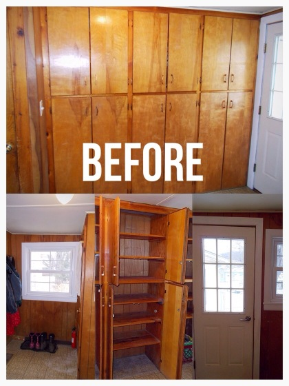 Mudroom Renovation 2016